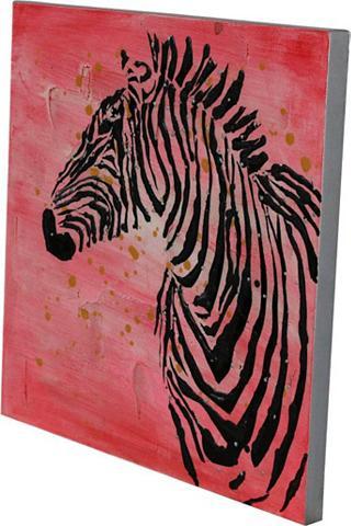 Öl-Wandbild »Kalahari« 70cm x 70cm