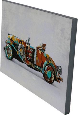 Aliejinis paveikslas »Used Car«