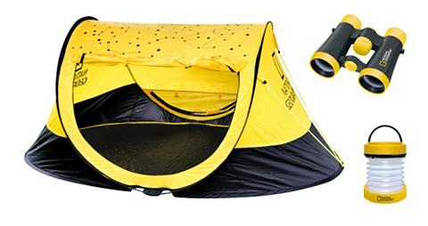 NATIONAL GEOGRAPHIC Camping rinkinys »Zelt 4x30 Fernglas L...