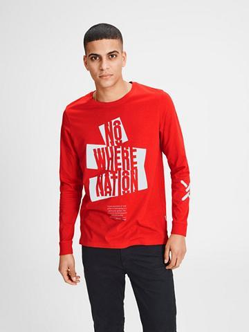 JACK & JONES Jack & Jones Grafik Marškinėliai su il...