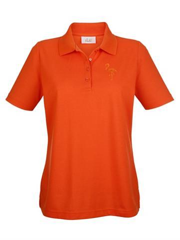 PAOLA Polo marškinėliai su apvadas