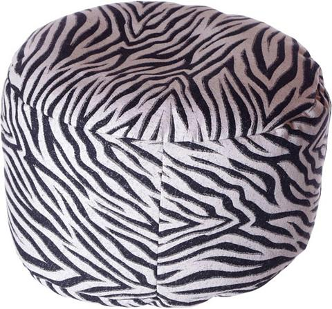 HOME AFFAIRE Pufas »Zebra« 47/34 cm
