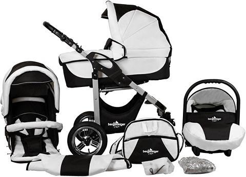 bergsteiger Kombi-Kinderwagen »Capri black & white...