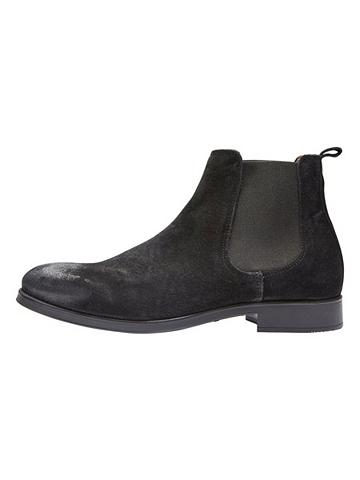 SELECTED HOMME Chelsea- Odiniai ilgaauliai batai