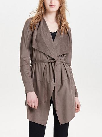 ONLY Dirbtinės odos imitacijos paltas