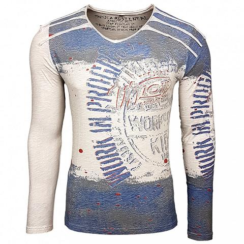 RUSTY NEAL Marškinėliai ilgomis rankovėmis su coo...