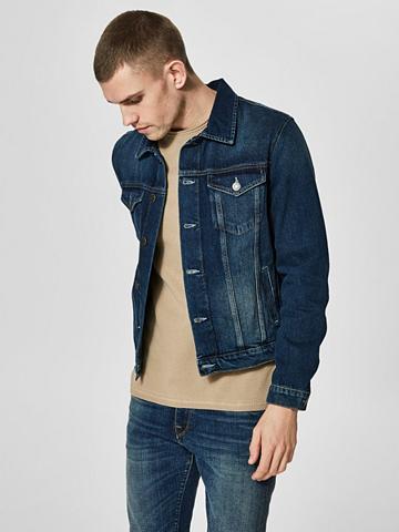 SELECTED HOMME Klasikinio stiliaus džinsiniai marškin...