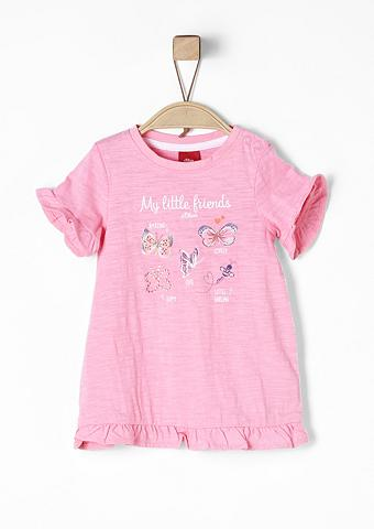 S.OLIVER RED LABEL JUNIOR Suknelė su žaismingas raštas dėl Babys...