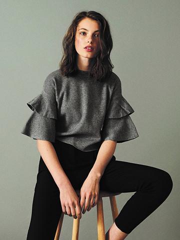NAME IT - Glockenärmel - megztinis