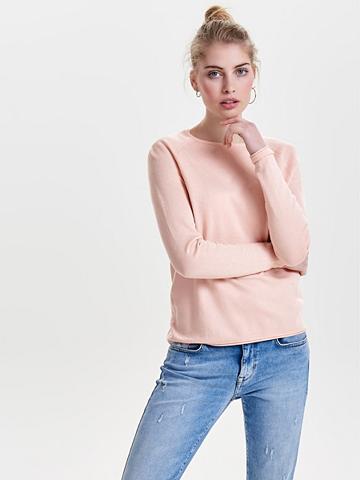 ONLY Vienspalvis megztinis