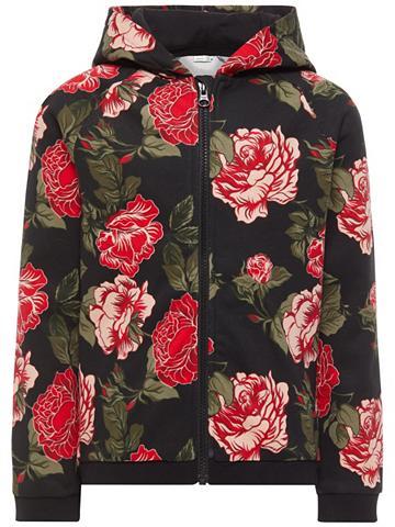NAME IT Floral raštuotas Megztinis