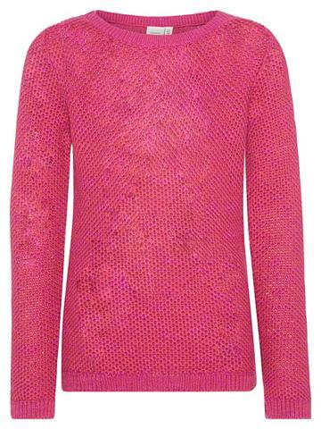NAME IT Einfarbiger Megztinis