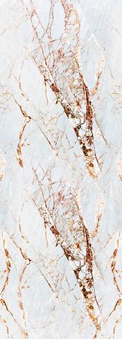 QUEENCE Vinyltapete »Marmor-Weiß« 90 x 250 cm ...