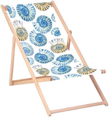 QUEENCE Paplūdimio kėdė »Schnecken-Blau« 120 x...