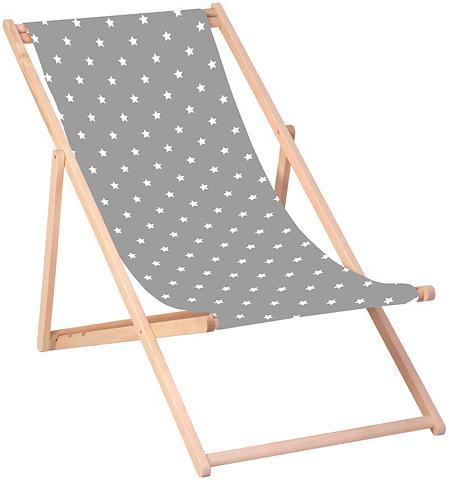 QUEENCE Paplūdimio kėdė »Sterne-Grau« 120 x 60...