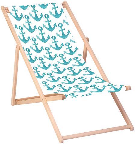 QUEENCE Paplūdimio kėdė »Anker-Blau« 120 x 60 ...