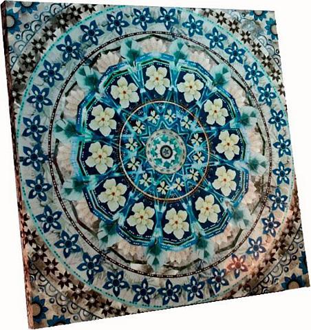 SCHNEIDER Paveikslas »Blue Mandala«