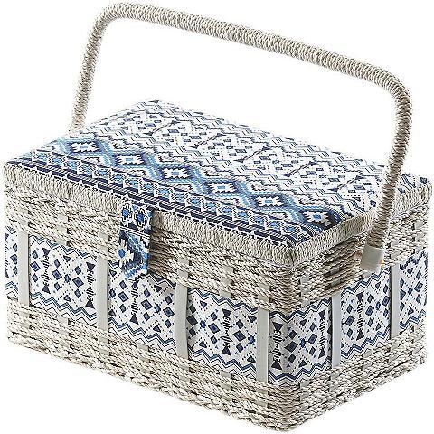 HOME AFFAIRE Krepšys siūvimo reikmėms eckig iš plas...