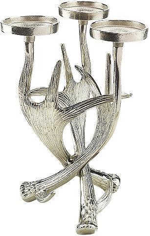 HOME AFFAIRE Žvakidė »Geweih« iš metalas dėl 3 Kerz...