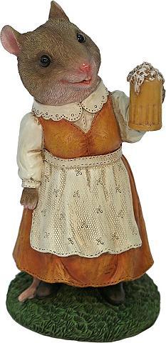 Home affaire Gyvūnų figūrėlė »Frau Maus im suknelė ...