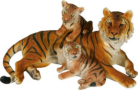 Home affaire Gyvūnų figūrėlė »Tiger su Jungend lieg...