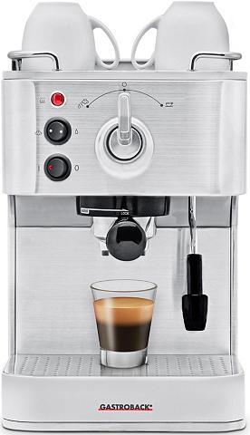 Gastroback Siebträgermaschine Design Espresso Plu...