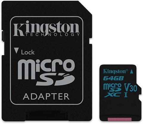 KINGSTON Atminties kortelė »microSDXC Medžiagin...