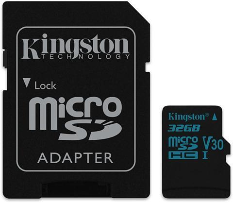 KINGSTON Atminties kortelė »micro SDXC Medžiagi...