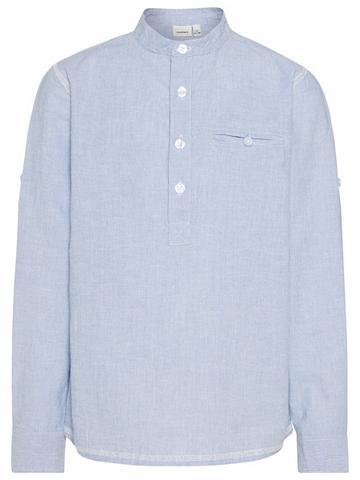 NAME IT Ilgomis rankovėmis marškinėliai Marški...