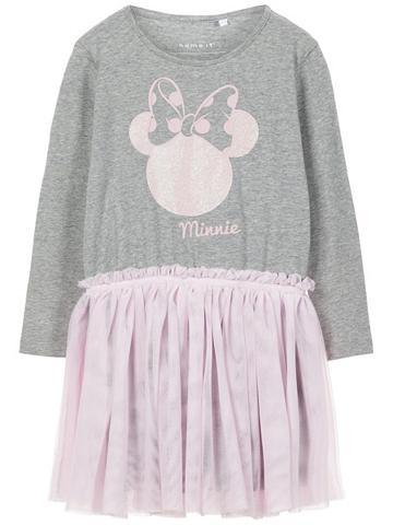NAME IT Minnie Kompiuterinė pelė raštas suknel...