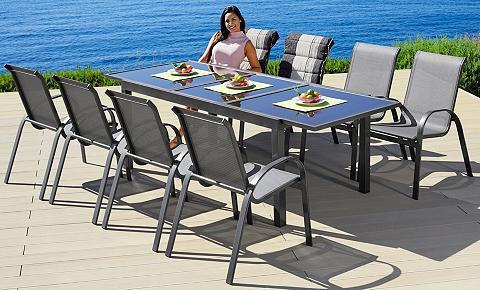 MERXX Sodo baldų komplektas »Amalfi« 9-tlg. ...