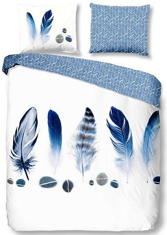 GOOD MORNING Patalynės užvalkalai »Feathers«