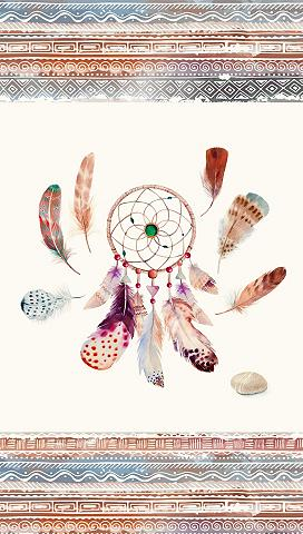 GOOD MORNING Paplūdimio rankšluostis »Feathers«