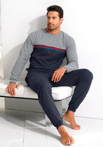 le jogger ® pižama in langer Form su kontrastfar...