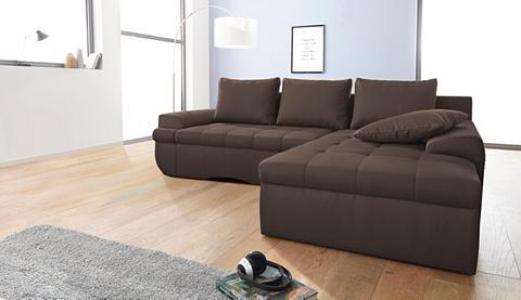 INOSIGN Kampinė sofa »Carina« in XL patogi su ...