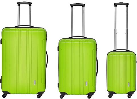 PACKENGER Plastikinis lagaminas ant ratukų rinki...