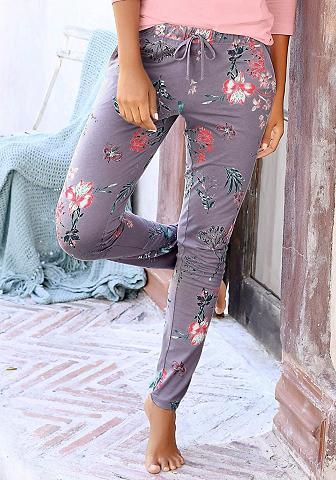 S.OLIVER RED LABEL Bodywear kelnės su gėlių raš...