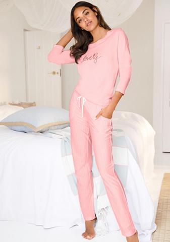 S.OLIVER RED LABEL Bodywear pižama su Dryžuotas...