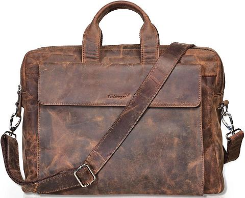 Packenger Umhängetasche »Odin vintage braun« su ...