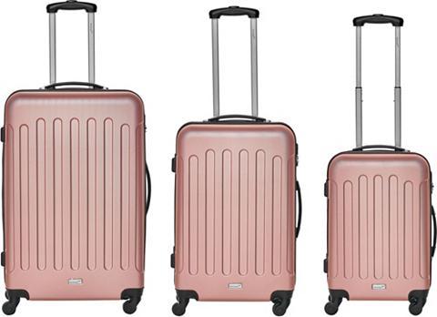 Packenger Trolleyset »Travelstar« 4 ratukai (3 t...