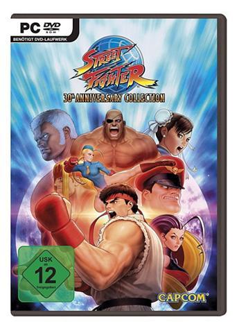CAPCOM PC - Spiel »Street Fighter Anniversary...
