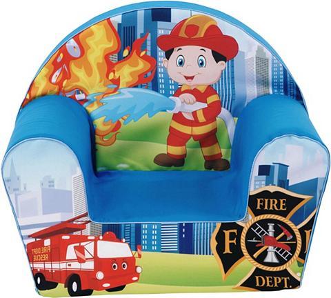 KNORR TOYS Vaikiškas fotelis »Fireman«