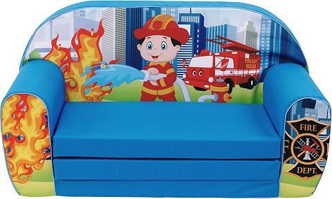 KNORR TOYS Vaikiška sofa »Fireman«
