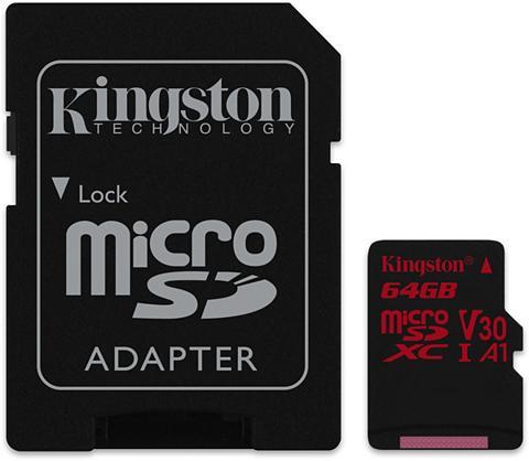 KINGSTON Atminties kortelė »micro SD Medžiagini...