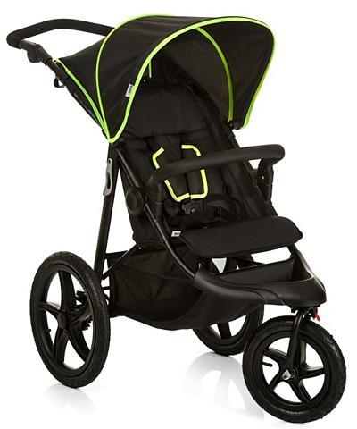 Hauck Dreirad-Kinderwagen »Runner Black/Neon...