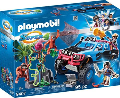 PLAYMOBIL ® Monster Truck su Alex ir Sijonas Bro...