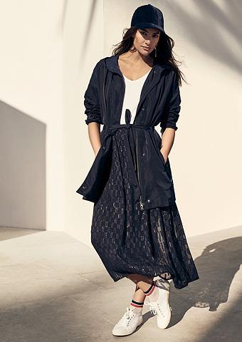 TRIANGLE Vidutinio ilgio sijonas iš Jacquard-Cr...