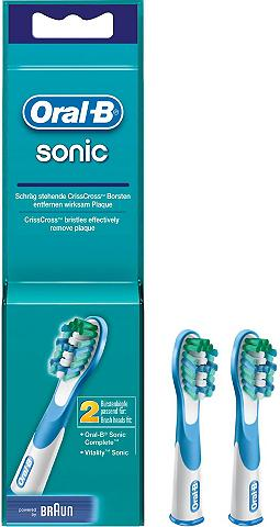 ORAL-B Oral B dantų šepetėlių antgaliai Sonic...