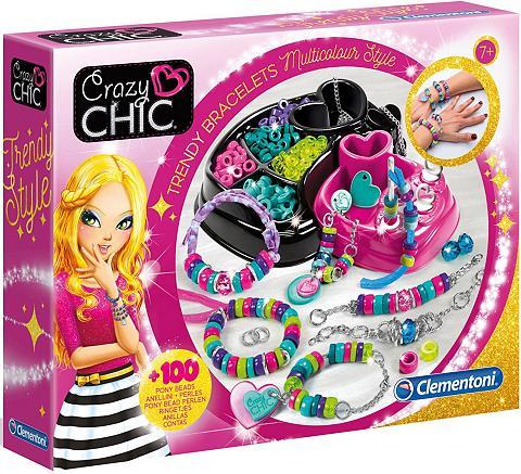 Clementoni ® Kreativset »Crazy Chic Trendige Perl...