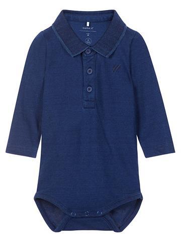 NAME IT Ilgomis rankovėmis Polo marškinėliai G...
